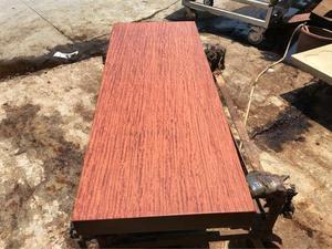 盛世红 非洲巴花 158-60-9全方大板桌 会议桌 办公桌