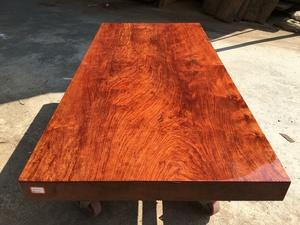 盛世红 非洲巴花 190-90-10.5 全方 办公桌 会议 餐 实木大板桌