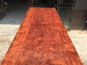 盛世红 非洲巴花 276.5-73.5-8 办公桌 会议 餐 实木大板桌