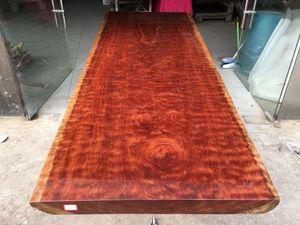 盛世红 非洲巴花 311-92.105-8.5 办公桌 会议 餐 实木大板桌